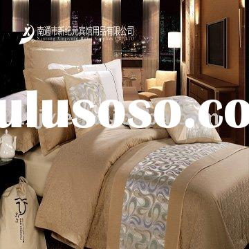 Luxury Five star Hotel bedding set-cotton jacquard