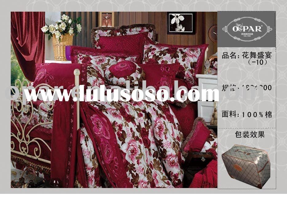 Luxury collection Jacquard comforter set
