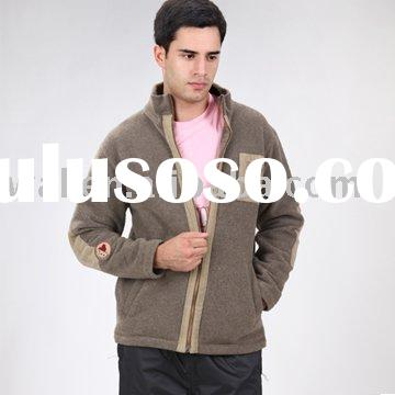 Men's polyester fleece jacket