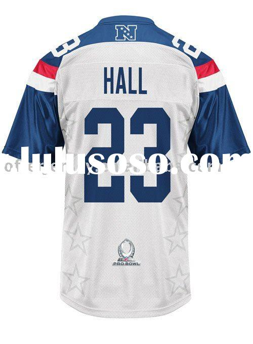 Oakland Raiders 2011 Pro Bowl Football Jerseys DeAngelo Hall Authentic Sports Jersey 48-56 Paypal Fr