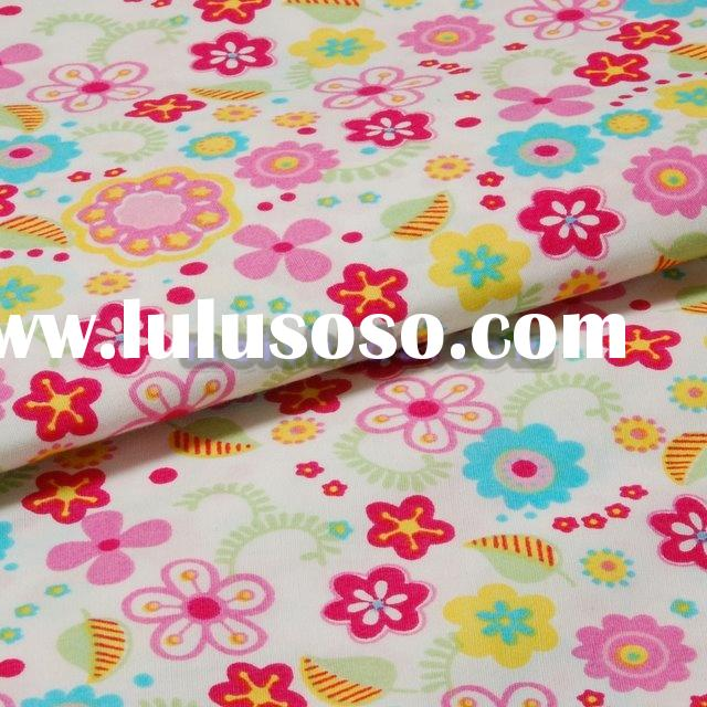 Printed Organic Cotton Fabric