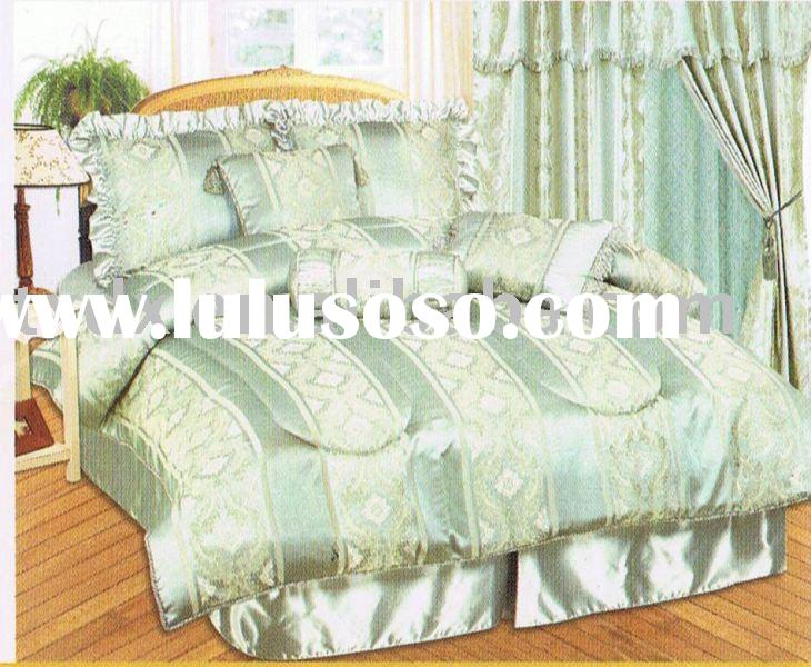 Revere Jacquard 7 Pieces Comforter Set Bedding Bed linen Duvet Cover
