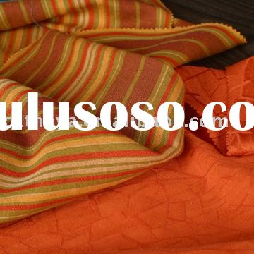 YARN DYED LINEN VISCOSE & SILK BAMBOO JACQUARD FABRIC
