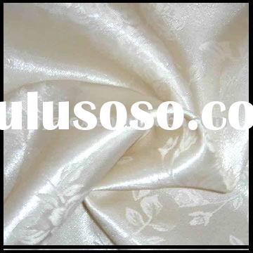 brocade silk satin jacquard fabric