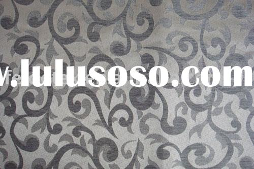 vivid flower design cut-out curtain fabric products, buy vivid
