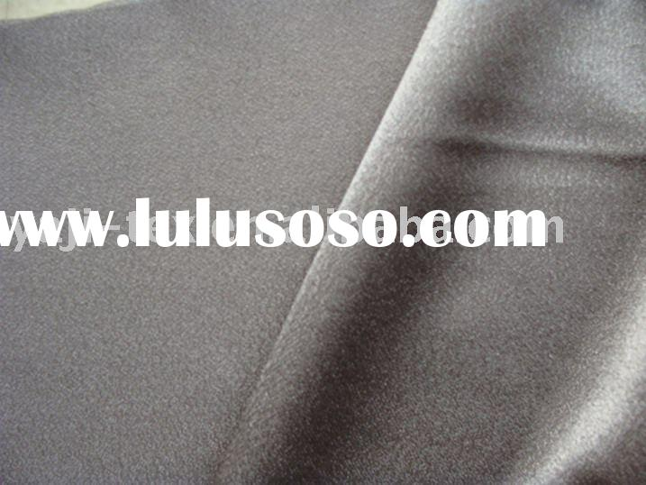 100% polyester back-crepe satin fabric /eco-friendly fabric /dress fabric