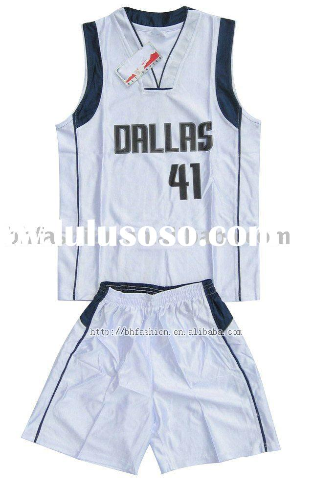 Dallas basketball suit basketball suits uniform jersey USA basketball club jersey wear paypal cheap