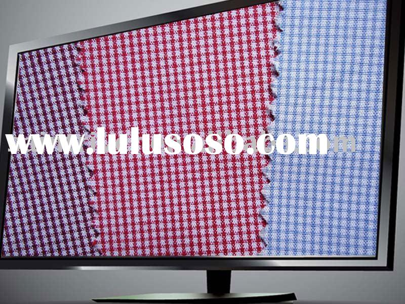 Fashion wholesale cotton plaid fabric(8200#)
