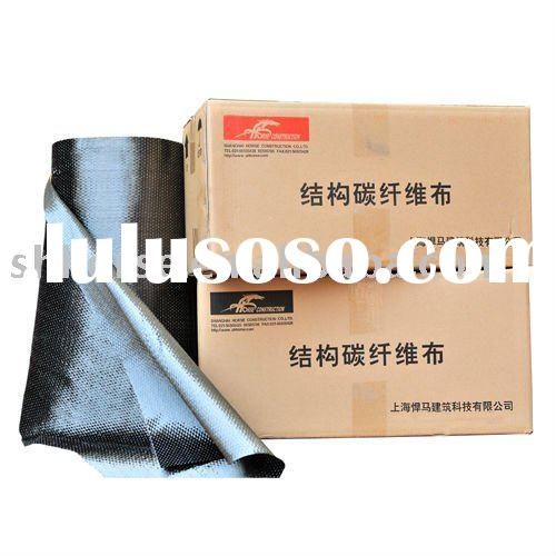 HM-1-300 Structural Carbon Fiber Cloth for Construction Woven by TORAY Carbon Fiber