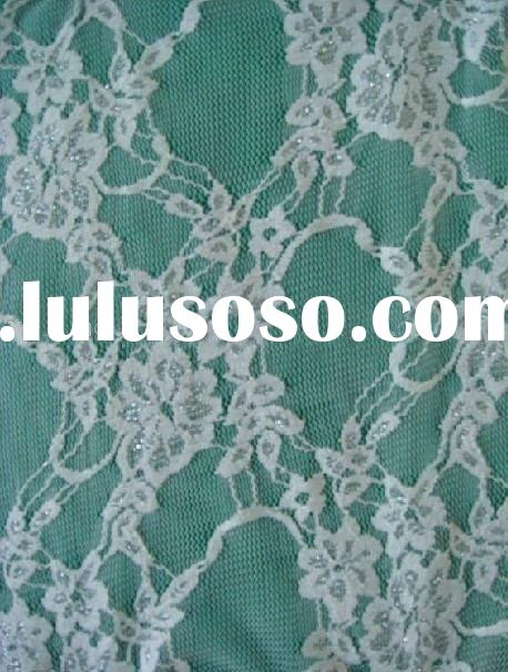 Wholesale warp stretch  lace  fabric