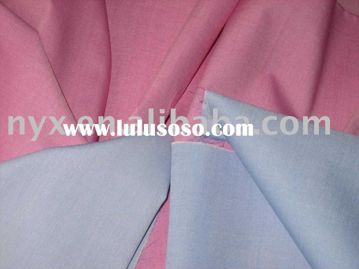 Y/D tencel cotton polyester blend twill fabric