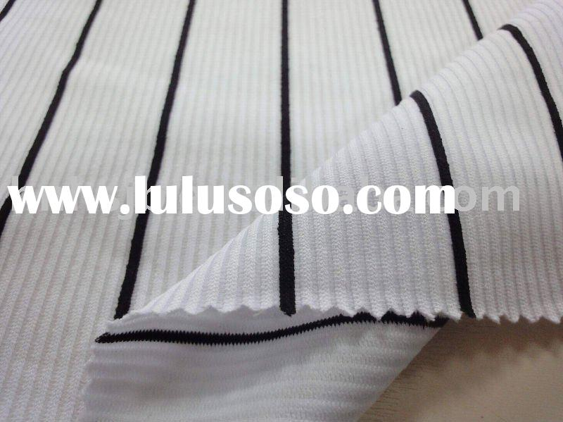 Yarn Dyed Fabric/knitting fabric for baseball and sports/