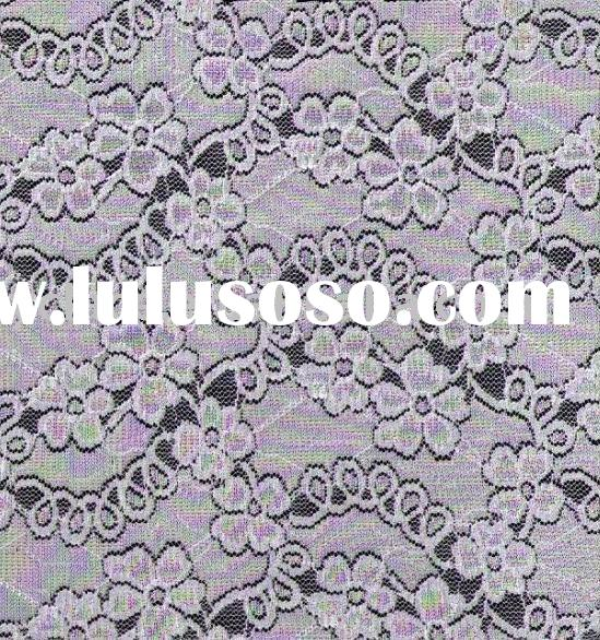 french white lace fabric