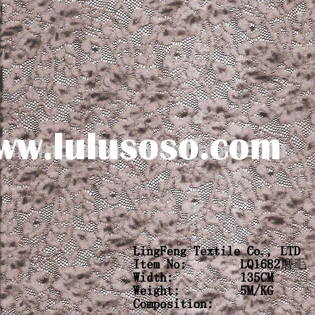 guipure lace fabric /brush lace fabric /thick beaded lace fabric /grey embroidered lace fabric