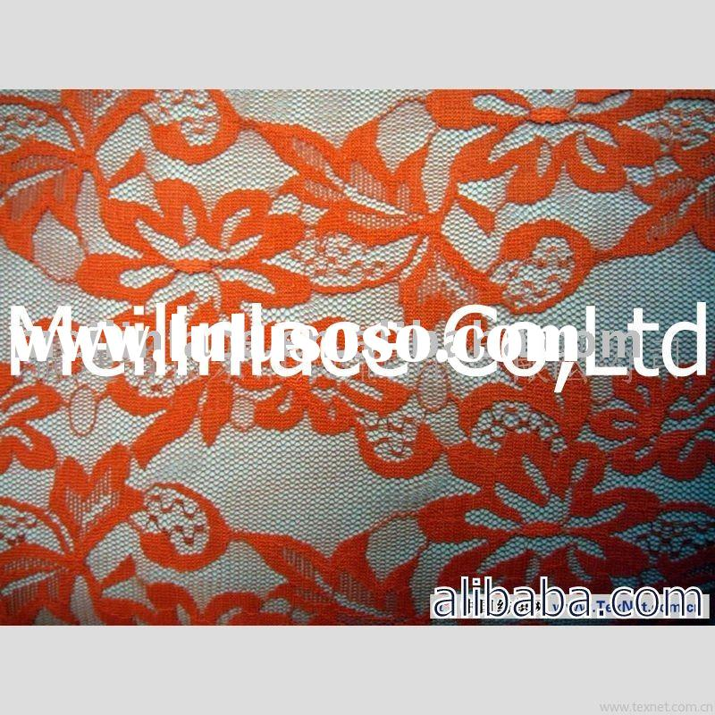 stretch scarf  lace fabric