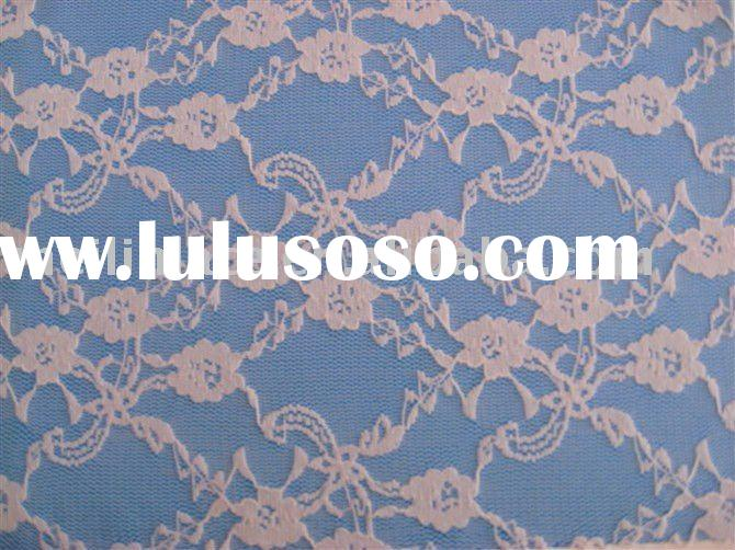 vintage stretch lace  fabric