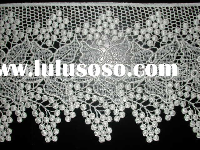 wedding lace fabric and cotton lace We have a variety of collar lace