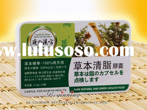 weight loss product Chinese Medicine Herbal Fat removal slimming capsule for thin