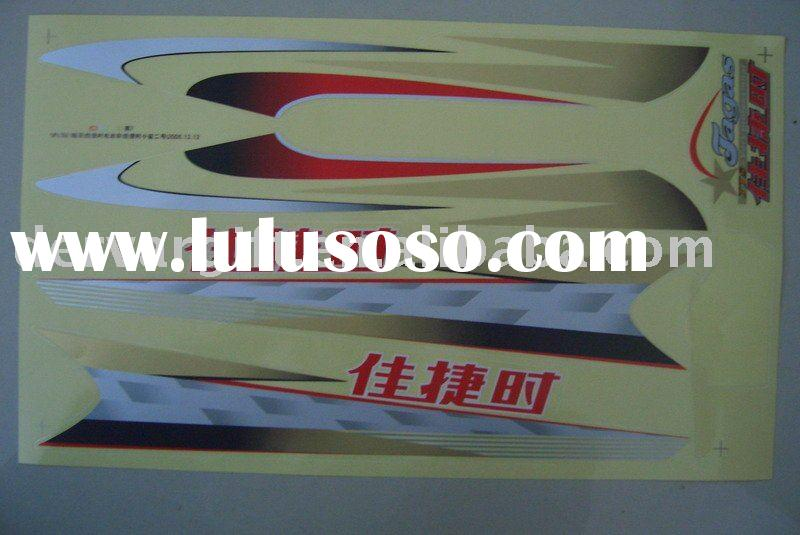 2011 DERVAR Motor Sticker CS0106