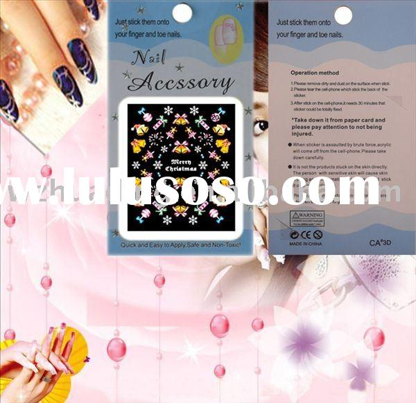 3D nail stickers, 3D products, 3D NAIL ARTS