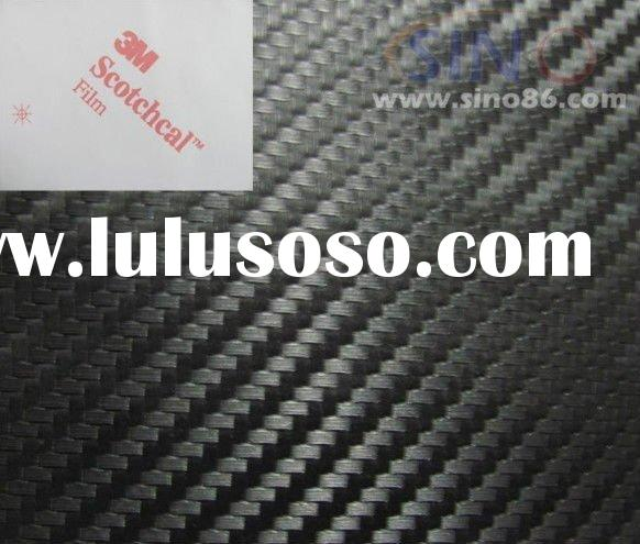 3M 3D  carbon fiber vinyl sticker for car,  1.27m*30m