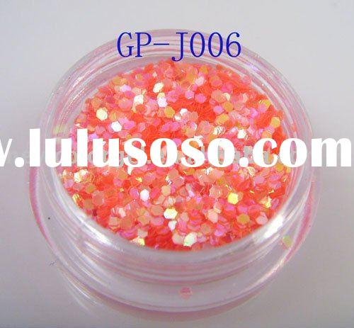 Acrylic glitter powder for nail enhancement