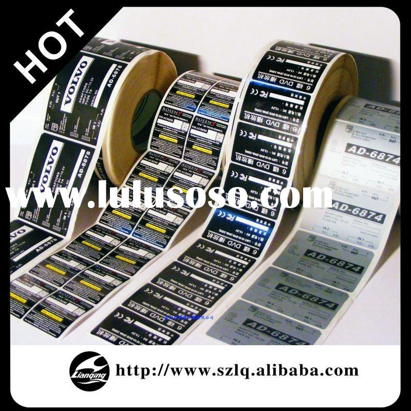 Custom Adhesive Sheet/ Sticker Label Printing