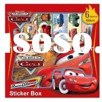 Disney Cars Sticker Box (for Disney licensee only)