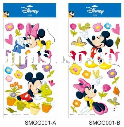 Disney Mickey Window Cling, Room Sticker, Wall Sticker (for Disney licensee only)