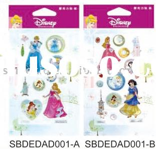 Disney Princess Gem Stickers, Stone Stickers (for Disney licensee only)