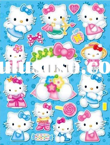 Hello Kitty self-adhesive sticker & label