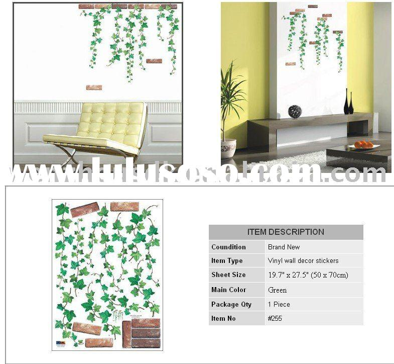 IVY Vine Vinyl Removable Wall Decals Art Stickers