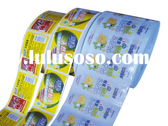 Machine workable adhesive label/ sticker/ adhesive label/ PVC Label