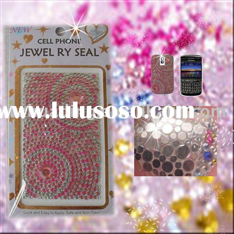 Mobile/cell phone crystal rhinestone stickers