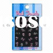 Nail Decorations with Assorted Patterns in Graphic Diamond Sticker