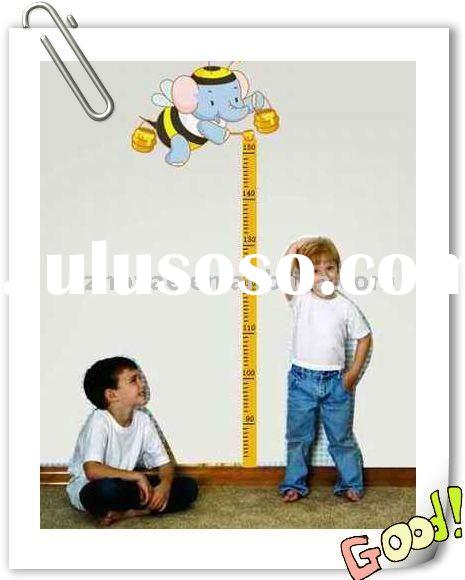 Removable Kids Height Measurement Wall Stickers