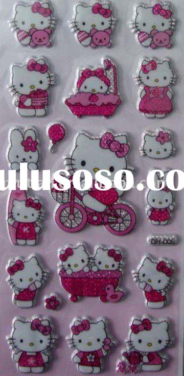 hello kitty foam sticker