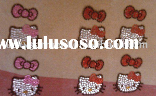 hello kitty sticker,acrylic sticker,mobile phone sticker