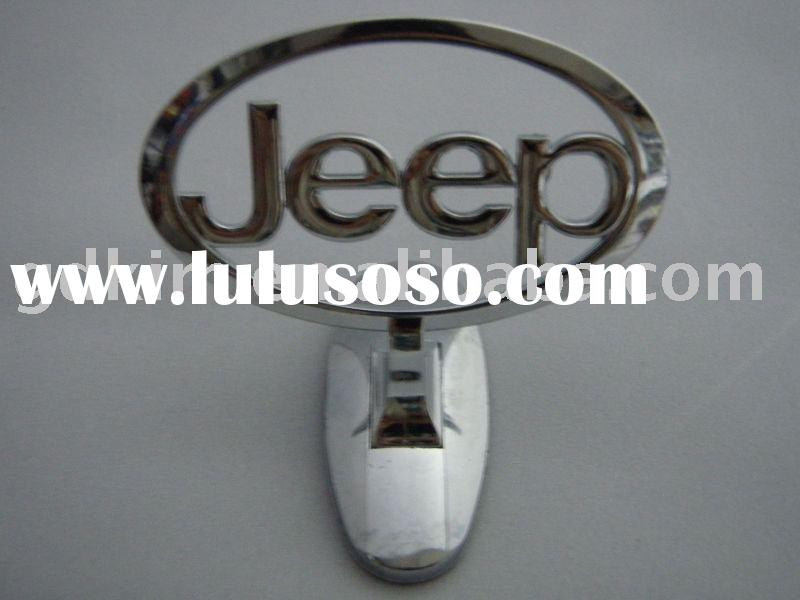 jeep car logo, car badge,car emblem with sticker for car accessories