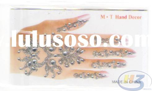 nail sticker,3D nail sticker,diamond sticker rhinestone sticker,