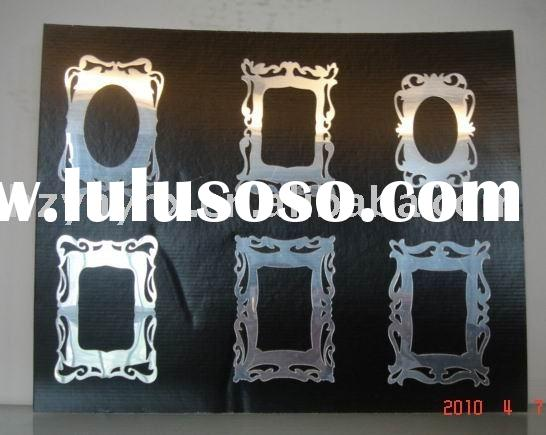 photo frame wall mirror decal/home decoration