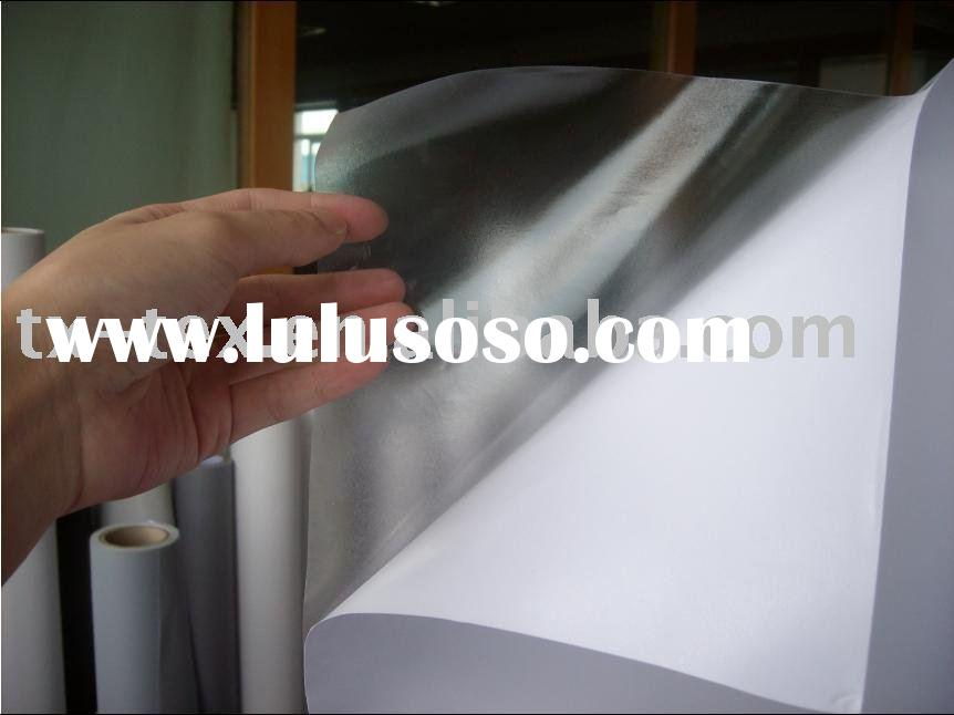 printable transparent clear adhesive vinyl film,sticker