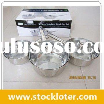 100902A Non-stick Stainless Steel Cookware Set