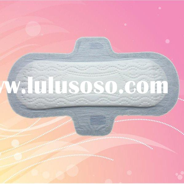 230MM ultra thin dry weave cover feminine hygiene pads with wings compare to kotex sanitary napkins