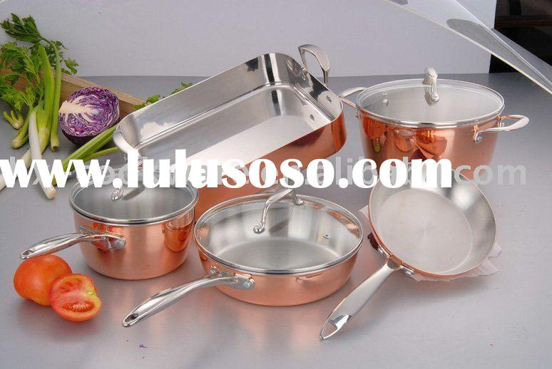 3-ply Copper clad Cookware Set