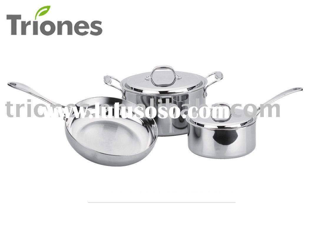 5-PLY Stainless Steel  5PCS  set