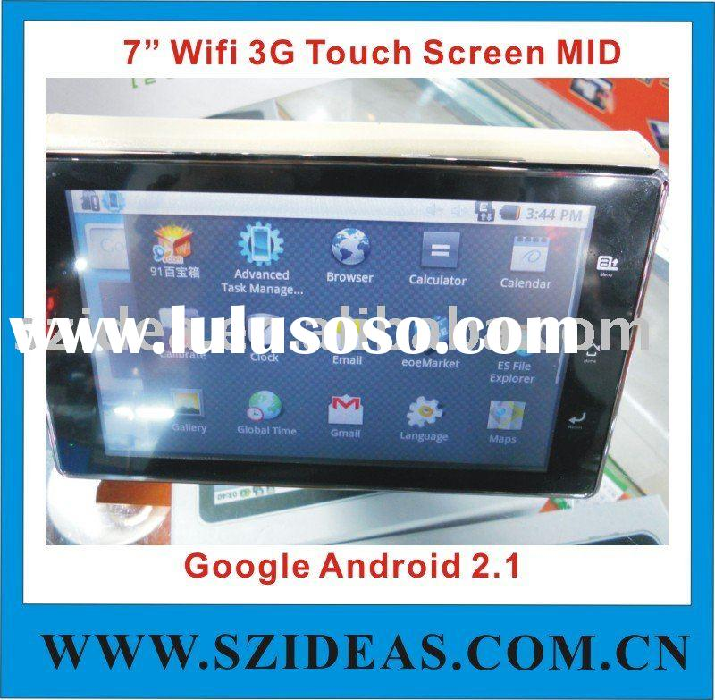 7 google android pad notebook multi touch 3g hdmi X5A