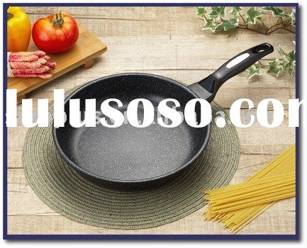 Aluminium Marble Teflon Coating Non-stick Frying Pan Cookware Set