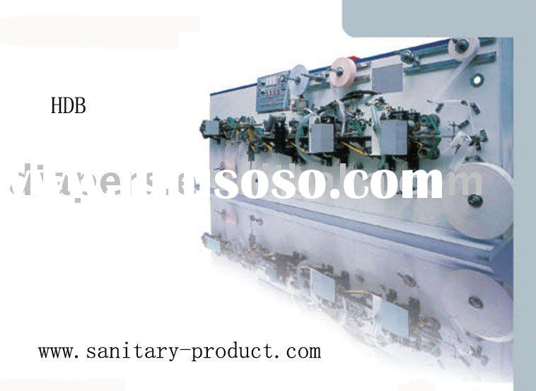 Auto Three-folded Sanitary Napkin Pads(Panty Shield) Packing Machine