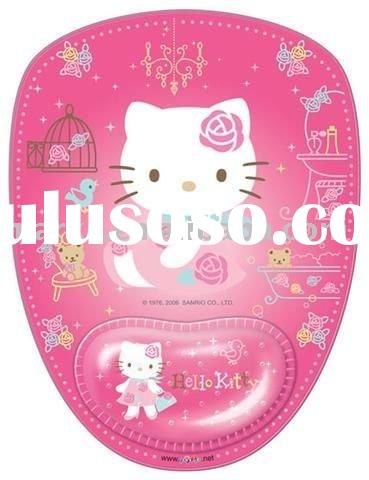 BEAUTY!!!pink hello kitty rug mouse pad